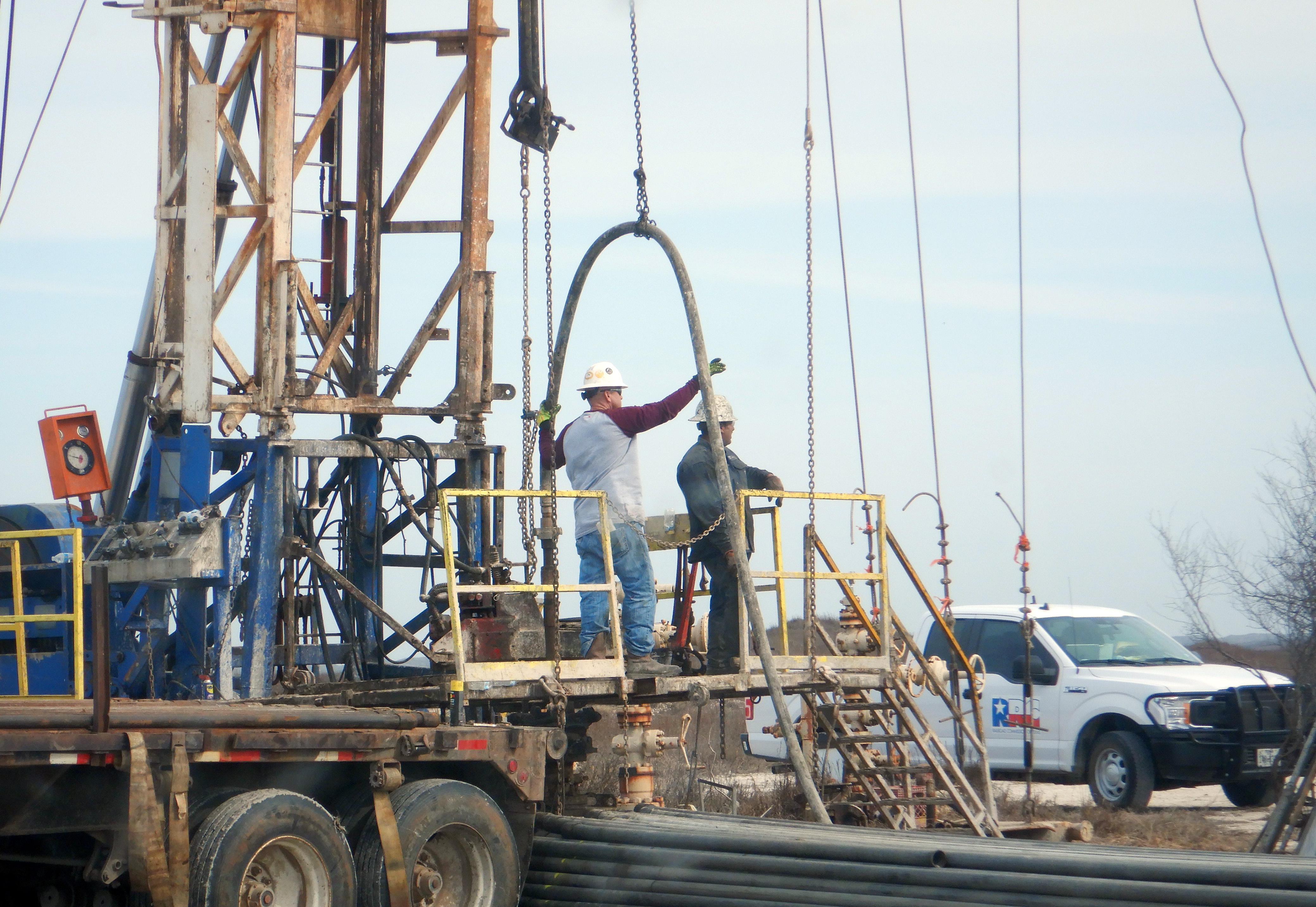RRC helping plug a well in Padre Island National Seashore